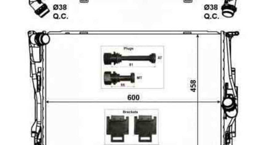 Radiator apa racire motor BMW X1 (E84) NRF 56129