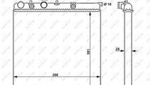 Radiator apa racire motor CITROEN C3 II, DS3; PEUG...