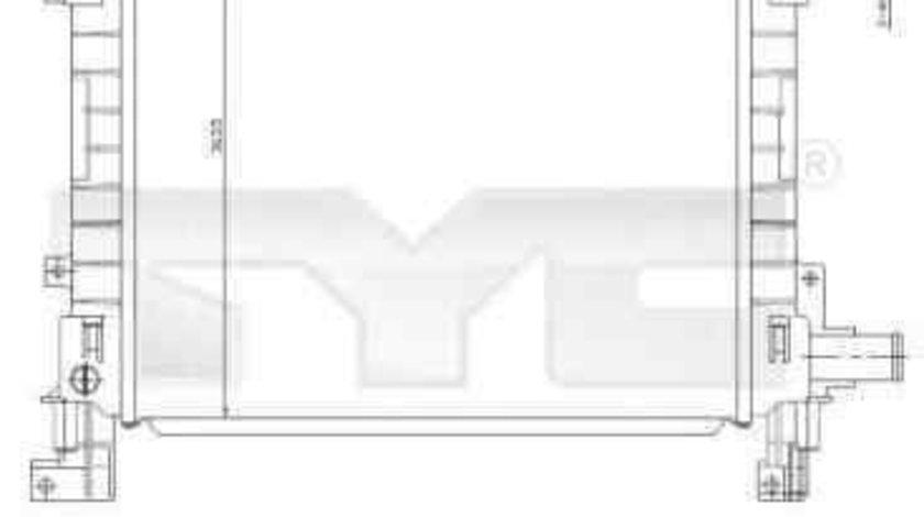 Radiator apa racire motor FORD KA (RB_) TYC 710-0042