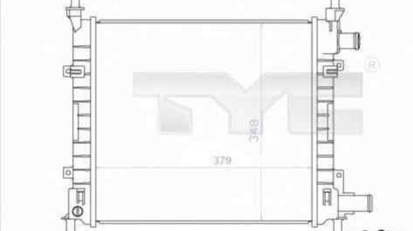 Radiator apa racire motor FORD KA (RB_) TYC 710-0043