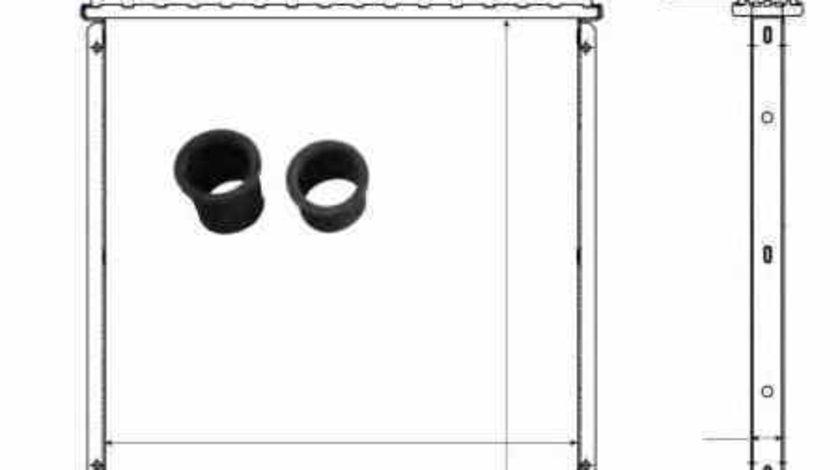 Radiator apa racire motor HONDA CIVIC VII Hatchback EU EP EV NRF 506750