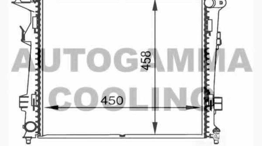 Radiator apa racire motor KIA CEE'D hatchback ED OEM D70302OEM