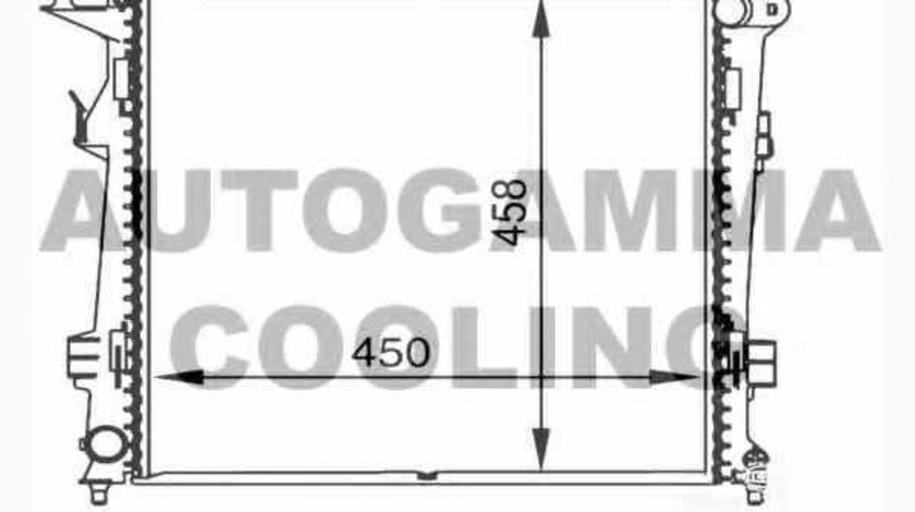 Radiator apa racire motor KIA PRO CEE'D ED OEM D70302OEM