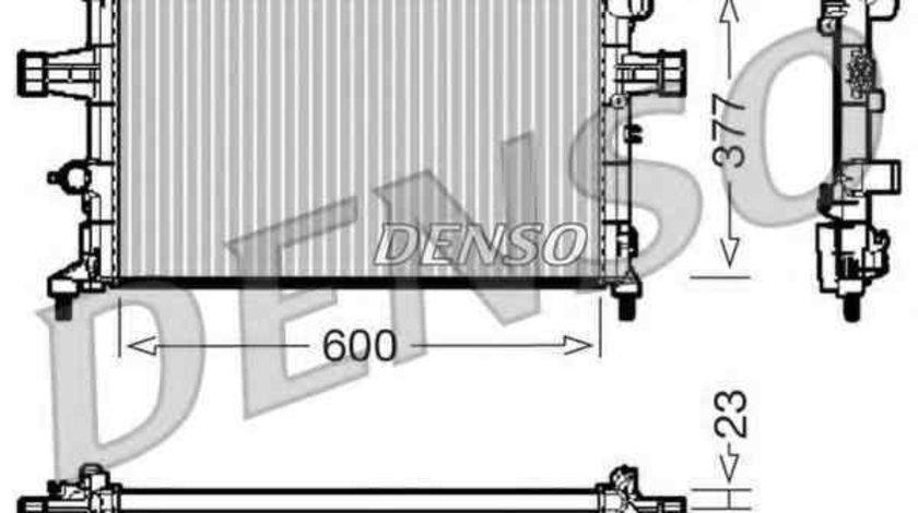 Radiator apa racire motor OPEL ASTRA G hatchback (F48_, F08_) DENSO DRM20083