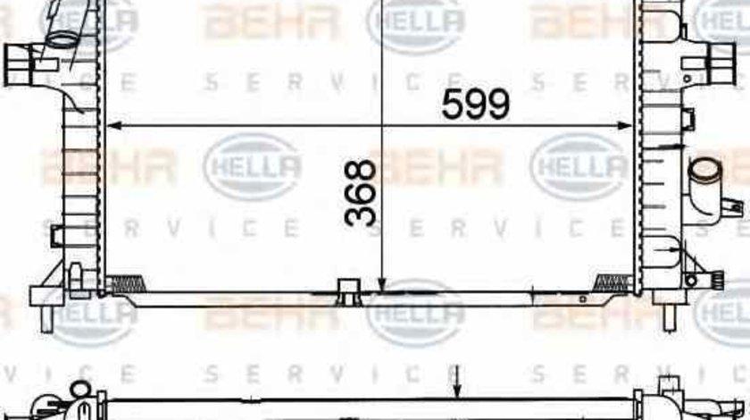 Radiator apa racire motor OPEL ASTRA H combi L35 HELLA 8MK 376 781-041