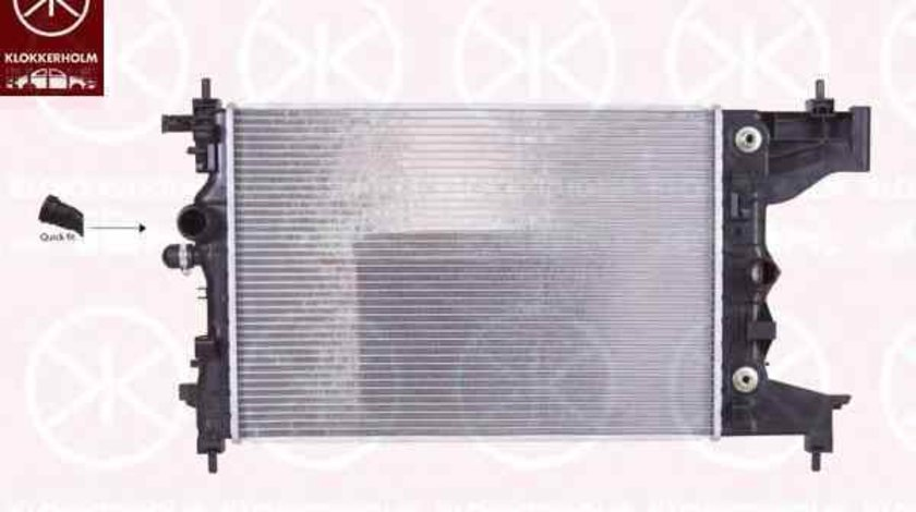 Radiator apa racire motor OPEL ASTRA J KLOKKERHOLM 5053302484
