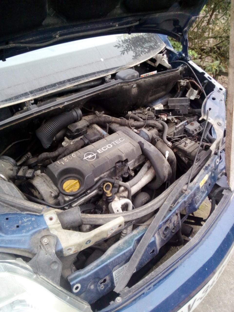 Radiator apa racire motor OPEL MERIVA 1.7 CDTI 2004