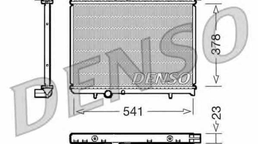 Radiator apa racire motor PEUGEOT 206 hatchback 2A/C Producator DENSO DRM21031
