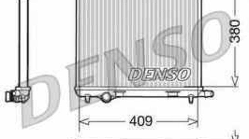 Radiator apa racire motor PEUGEOT 207 WA WC DENSO DRM21026