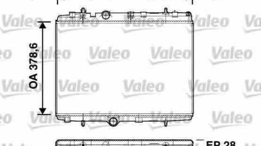 Radiator apa racire motor PEUGEOT 301 VALEO 734398