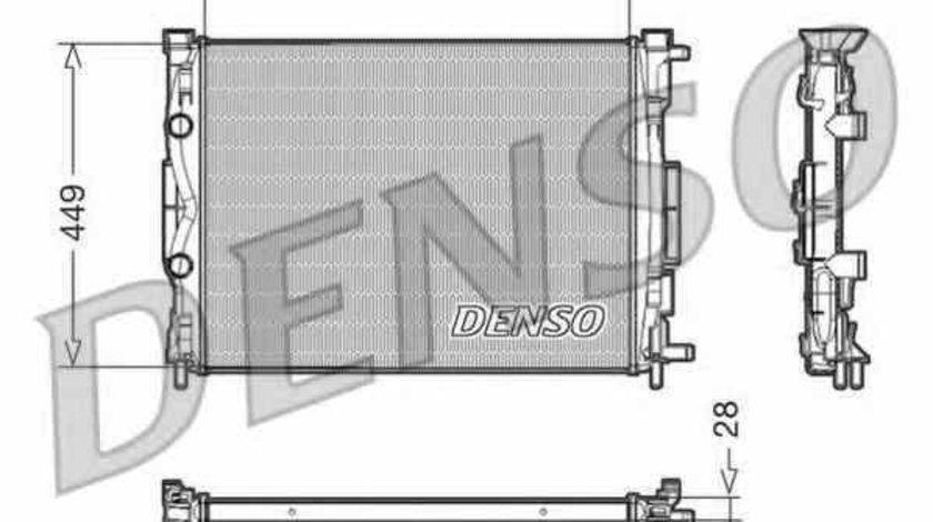 Radiator apa racire motor RENAULT SCÉNIC II JM0/1 Producator DENSO DRM23056