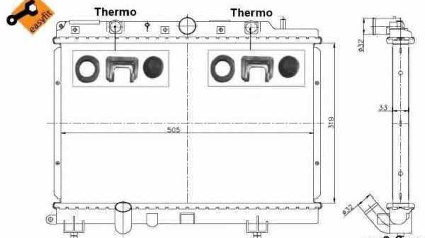 Radiator apa racire motor ROVER 200 RF NRF 55307