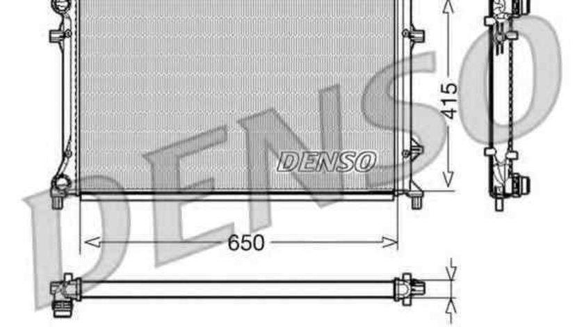 Radiator apa racire motor SEAT ALTEA XL (5P5, 5P8) DENSO DRM32018