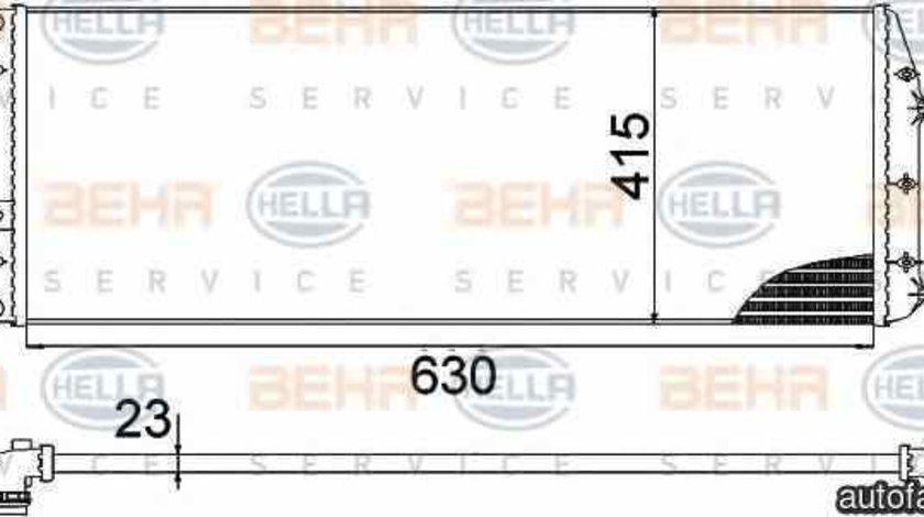 Radiator apa racire motor SEAT CORDOBA 6L2 HELLA 8MK 376 717-701