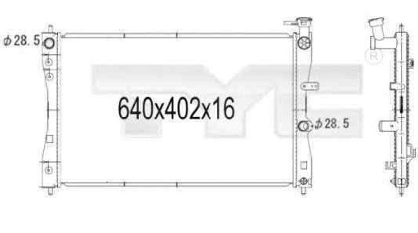 Radiator apa racire motor SMART FORFOUR (454) TYC 723-1006