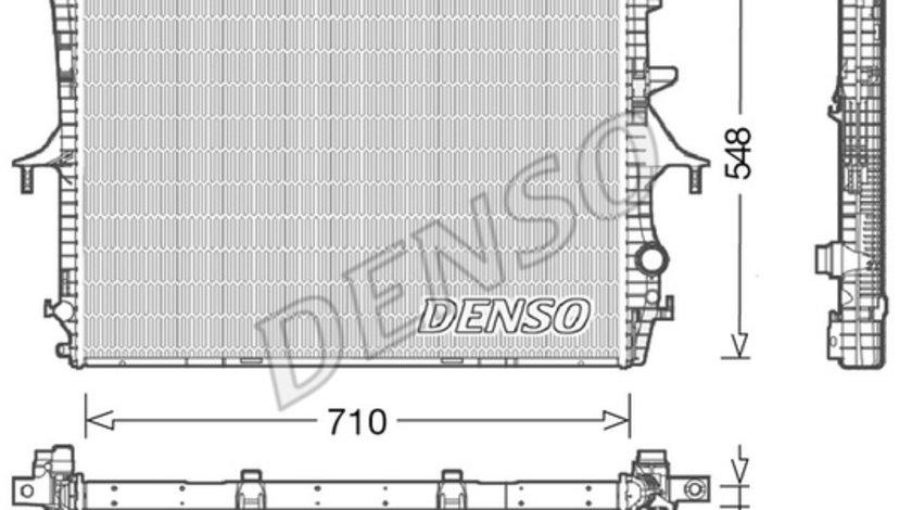 Radiator apa racire motor (transmisie automata/manuala) AUDI Q7; PORSCHE CAYENNE; VW TOUAREG 3.0-6.0 intre 2002-2015