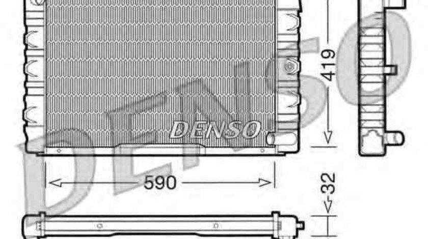 Radiator apa racire motor VOLVO 140 (142, 144) Producator DENSO DRM33033