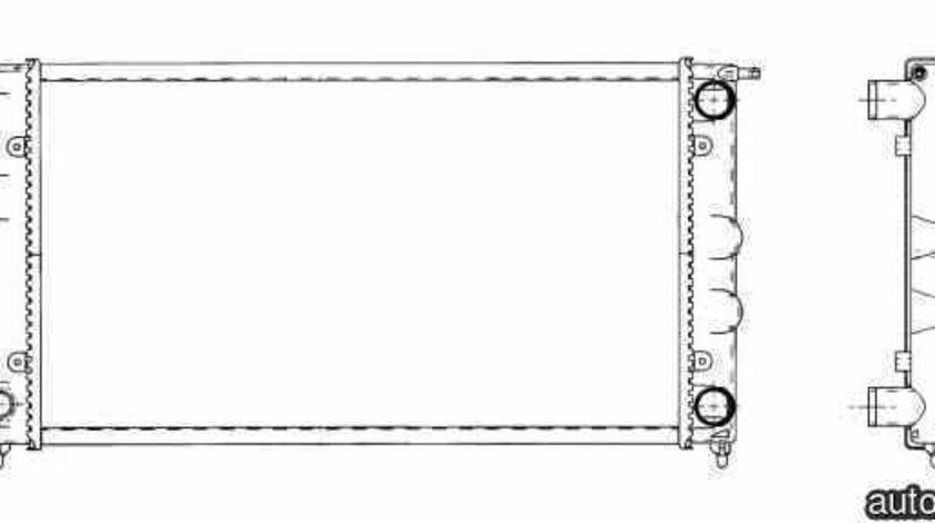 Radiator apa racire motor VW CADDY I 14 NRF 509501