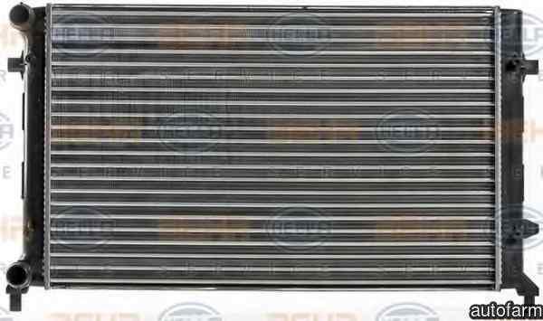 Radiator apa racire motor VW GOLF IV Variant (1J5) HELLA 8MK 376 700-494