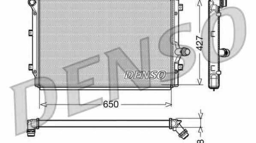 Radiator apa racire motor VW PASSAT CC 357 Producator DENSO DRM32017