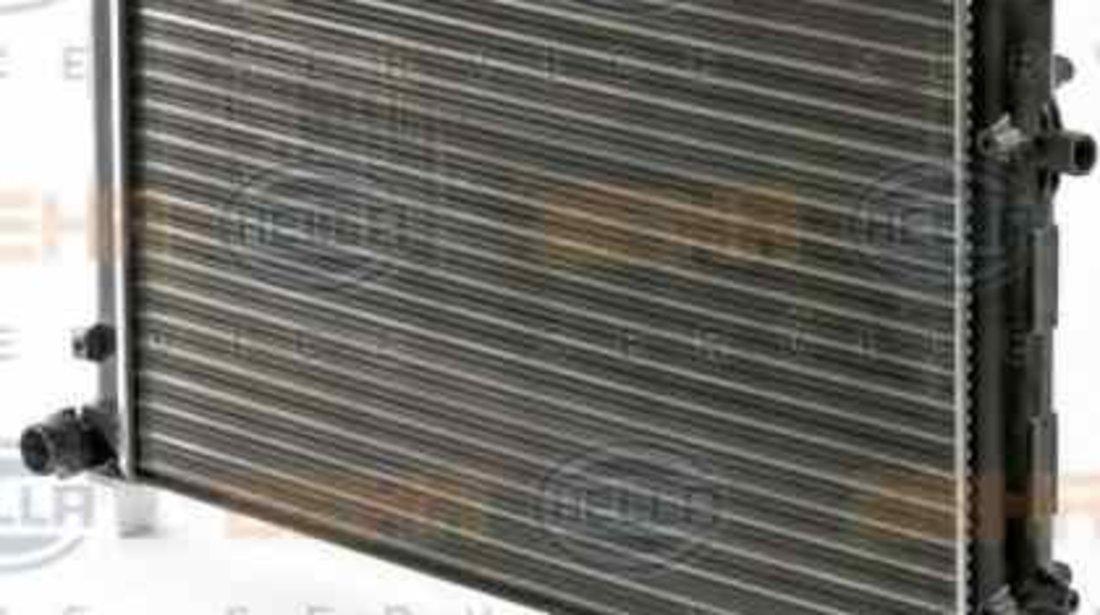 Radiator apa racire motor VW TOURAN 1T1 1T2 HELLA 8MK 376 700-494
