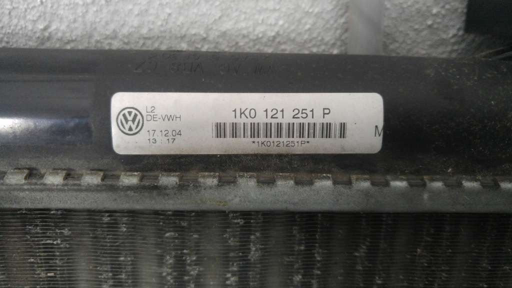 Radiator apa skoda octavia 2 1.6b bgu 2012 1k0121251p