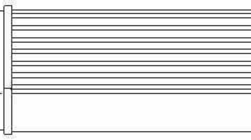 Radiator calorifer caldura SKODA FELICIA I 6U1 TOPRAN 110 546
