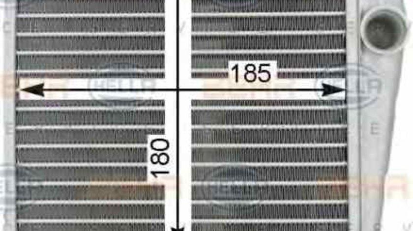 Radiator calorifer caldura VW SVW PASSAT B7 HELLA 8FH 351 315-781