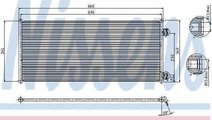 Radiator Clima Aer Conditionat FORD TRANSIT bus (F...