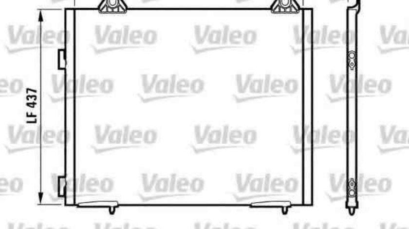 Radiator Clima Aer Conditionat LAND ROVER FREELANDER (LN) VALEO 817067