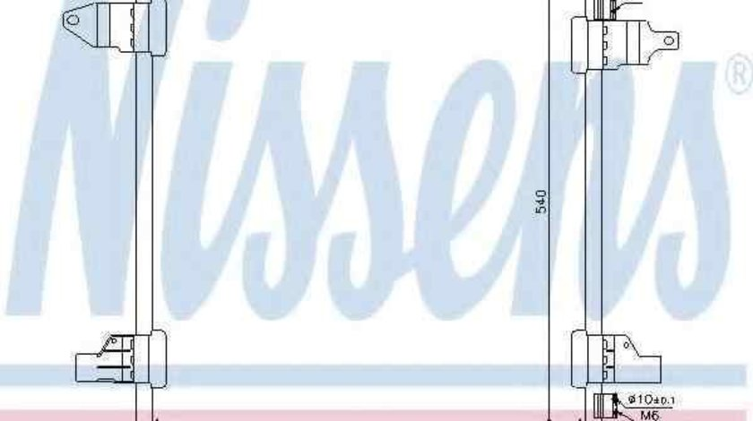 Radiator Clima Aer Conditionat MERCEDES-BENZ M-CLASS (W163) NISSENS 94569