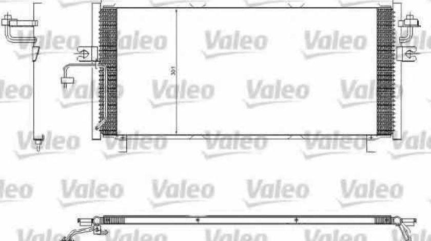 Radiator Clima Aer Conditionat NISSAN PRIMERA Hatchback P11 VALEO 817603