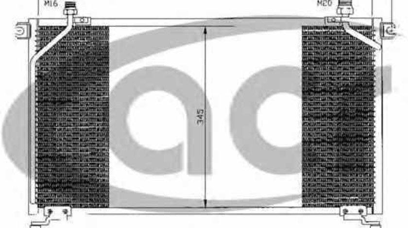 Radiator Clima Aer Conditionat NISSAN TERRANO II R20 Producator THERMOTEC KTT110358
