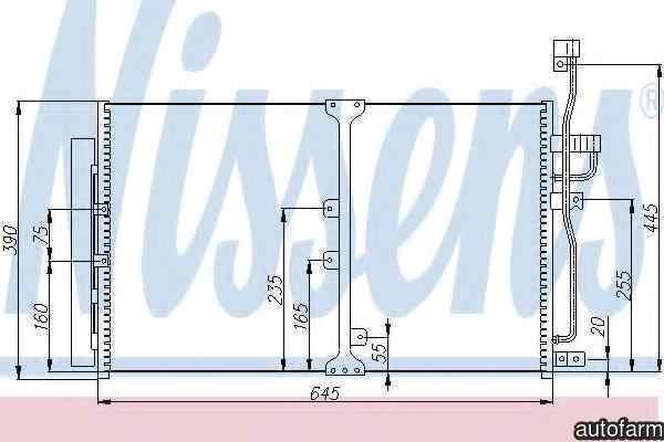 Radiator Clima Aer Conditionat OPEL ANTARA NISSENS 94977