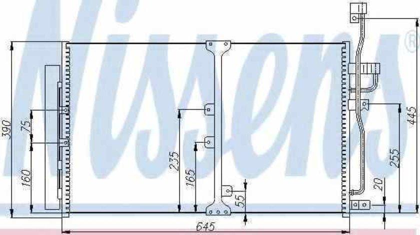 Radiator Clima Aer Conditionat OPEL ANTARA Producator NISSENS 94977