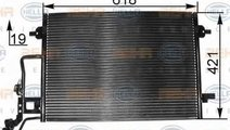 Radiator Clima Aer Conditionat SKODA SUPERB (3U4) ...
