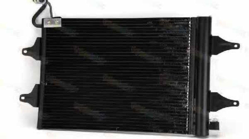 Radiator Clima Aer Conditionat VW FOX 5Z1 5Z3 Producator THERMOTEC KTT110029