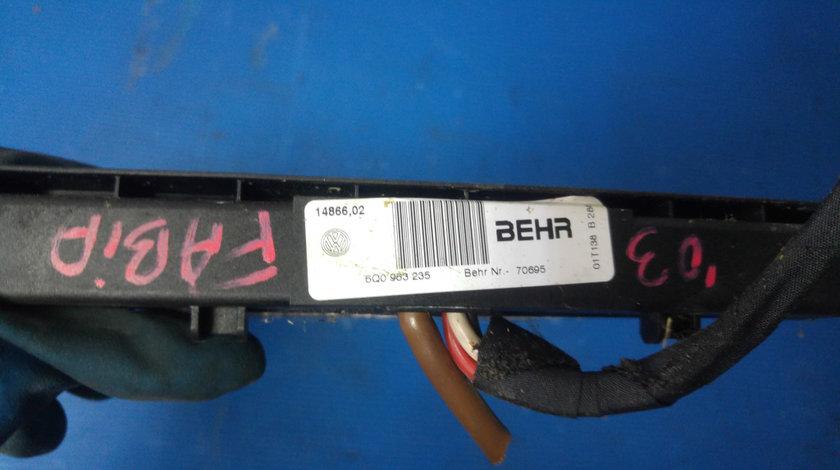 Radiator clima bord skoda fabia vw polo 9n 6q0963235