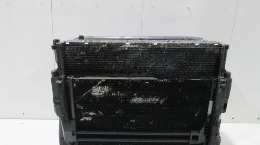 Radiator + condensator + ventilator BMW Turbo Diesel
