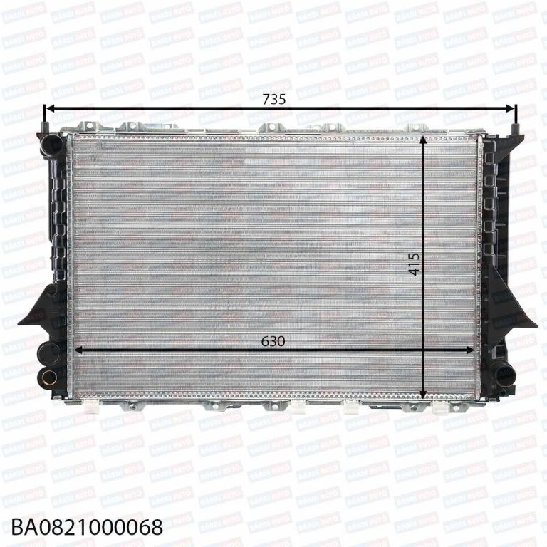 Radiator de apa BA0821000068 audi 100 a6 ⭐⭐⭐⭐⭐