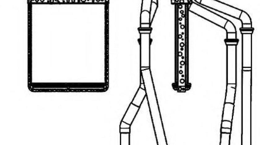 Radiator incalzire interior IVECO DAILY IV platou / sasiu (2006 - 2011) NRF 54218 produs NOU