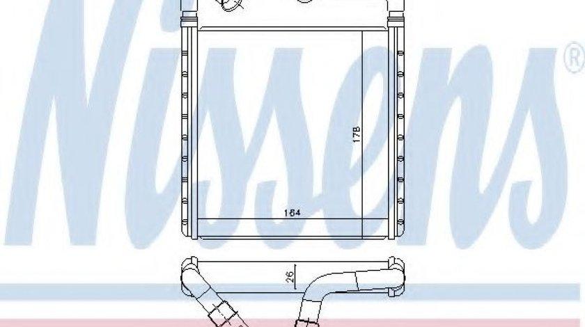 Radiator incalzire interior VW GOLF VII (5G1, BE1) (2012 - 2016) NISSENS 73943 - produs NOU