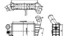 Radiator intercooler ALFA ROMEO 147 (937) (2000 - ...