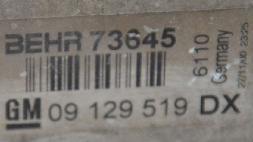 Radiator intercooler Astra H 1.7 CDTI Z17DTH 101cp / 09129519DX