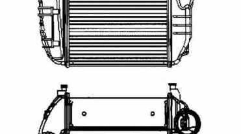 Radiator intercooler AUDI A4 8E2 B6 NRF 30756