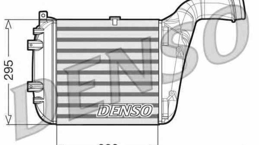 Radiator intercooler AUDI Q7 (4L) DENSO DIT02030