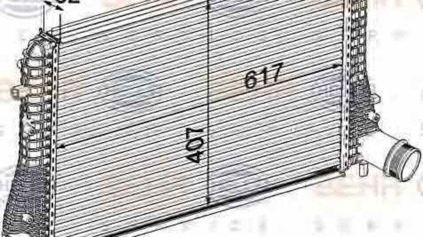 Radiator intercooler AUDI TT 8J3 HELLA 8ML 376 746-721