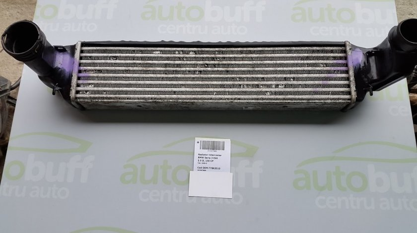 Radiator intercooler BMW Seria 3 E46 2.0 D 150 CP