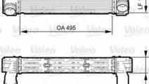 Radiator intercooler BMW X3 F25 VALEO 818252