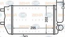 Radiator intercooler FIAT DUCATO bus 230 HELLA 8ML...